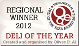 Deli of the Year 2012 - Regional Winner